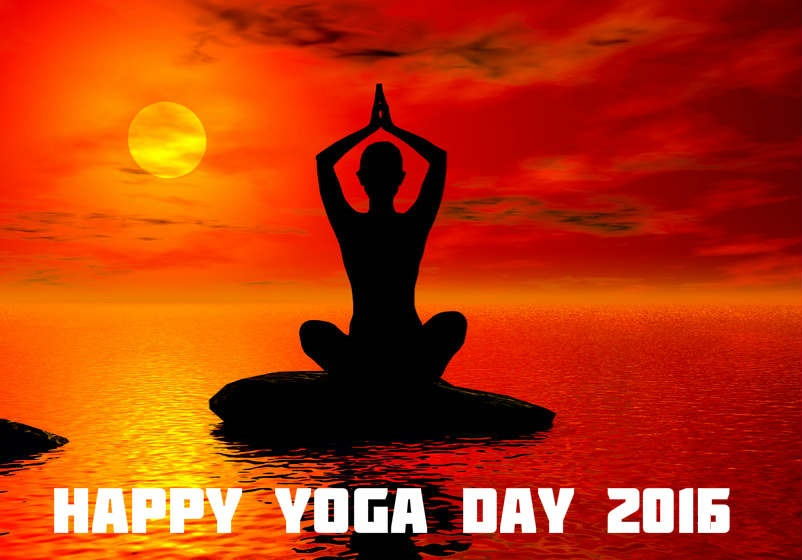 Happy International Yoga Day 2016