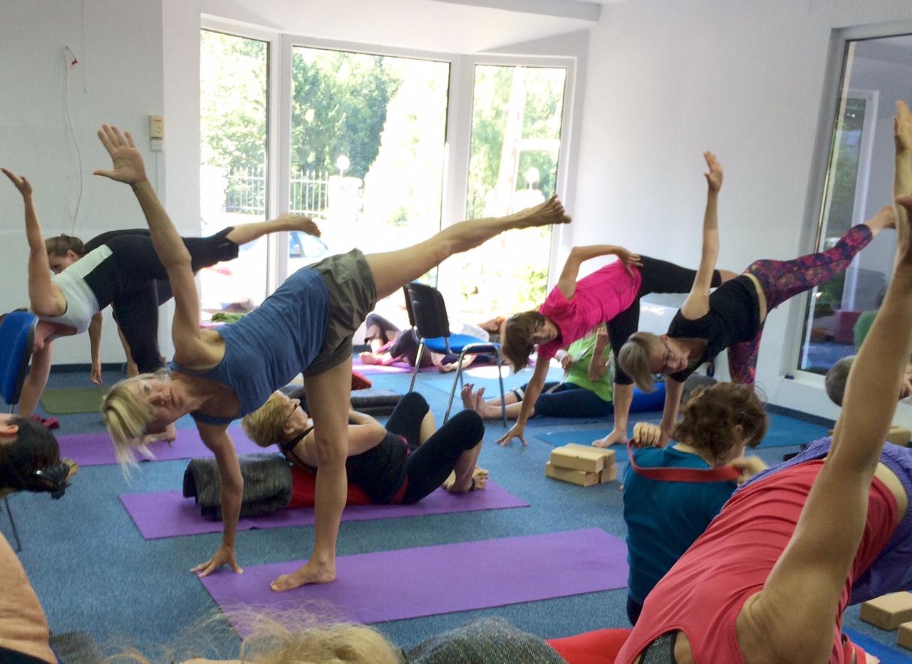 7 days Iyengar Yoga workshop in Polish mountains