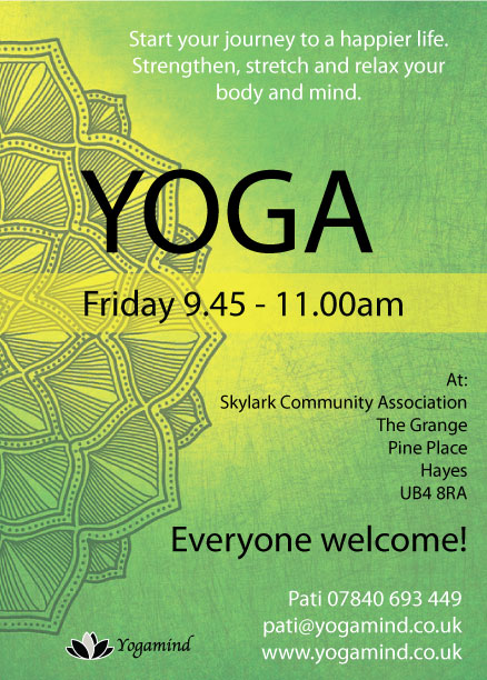 New Class Starting Soon in Hayes
